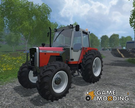 Massey Ferguson 698T FL for Farming Simulator 2015