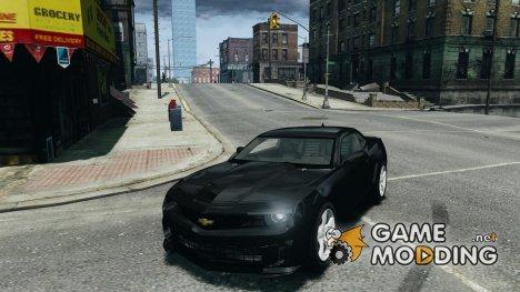Chevrolet Camaro SS 2009 v2.0 для GTA 4