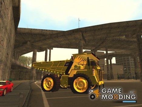 Dumper from GTA V для GTA San Andreas