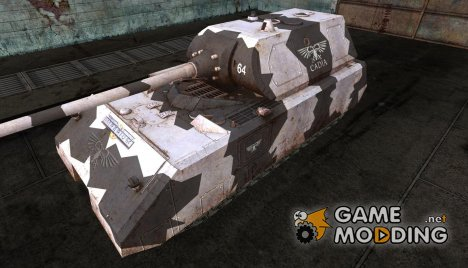 Шкурка для Maus (Вархаммер) for World of Tanks