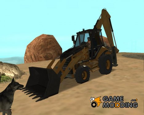 JCB (WITH BACK ARM) for GTA San Andreas