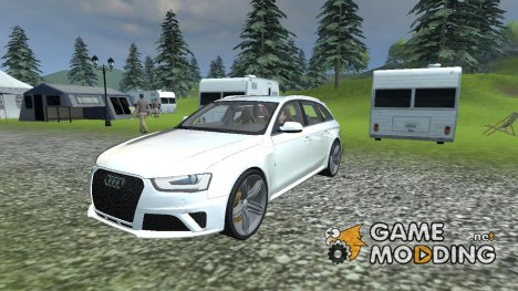 Audi All road v 2.0 for Farming Simulator 2013