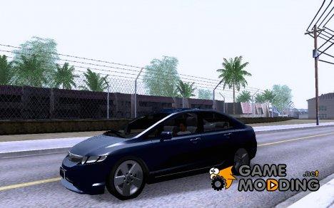 2007 Honda Civic v1.1 для GTA San Andreas