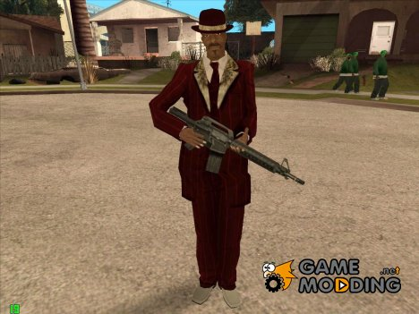 Snoop Dogg Big Hustler для GTA San Andreas