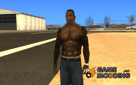 New japanese Tattoo для GTA San Andreas