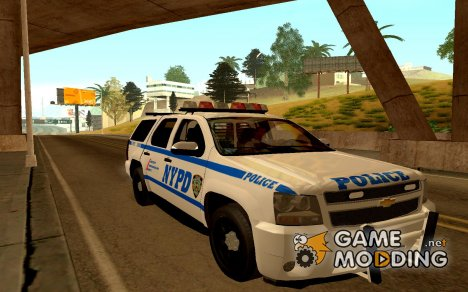 Chevrolet Tahoe NYPD 2010 for GTA San Andreas