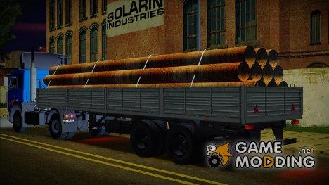 Полуприцеп МАЗ 93866 for GTA San Andreas