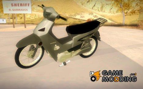 Honda Wave 2014 for GTA San Andreas