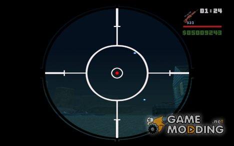 Цветные, HD иконки оружия для GTA San Andreas