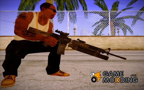 M16 (Global Ops - Commando Libya) for GTA San Andreas