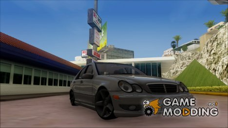 Mercedes Benz C32 W203 Full 3D для GTA San Andreas