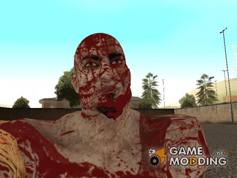 Bloody Kratos from God of War 3 для GTA San Andreas