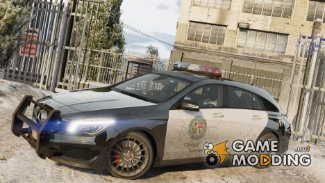 2016 Mercedes-Benz CLA 45 AMG Shooting Brake POLICE for GTA 5