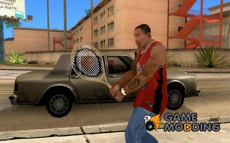 Теннисная ракетка для GTA San Andreas