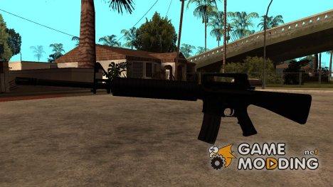 Новый M4 для GTA San Andreas