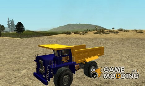 Paintable Dumper by Vexillum для GTA San Andreas