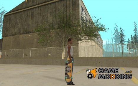 Skateboard Skin 1 for GTA San Andreas