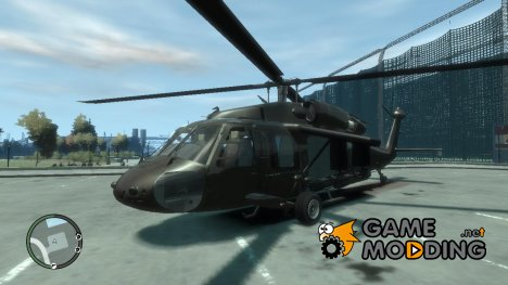 UH-60 Black Hawk для GTA 4