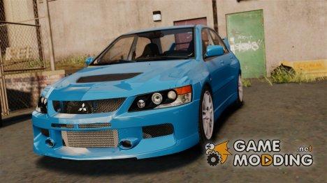 Mitsubishi Lancer Evolution IX MR 2006 for GTA 4