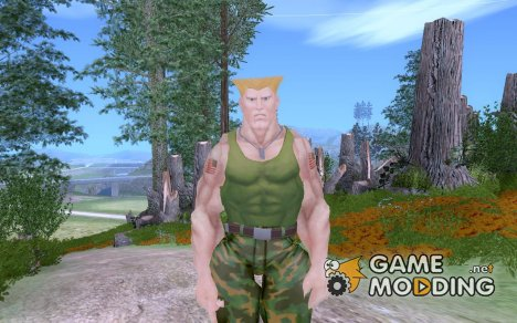 Guile из Street fighter 4 for GTA San Andreas