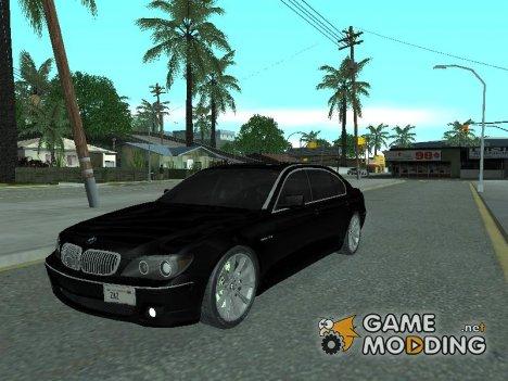 BMW 760 LI 2001 Сток для GTA San Andreas