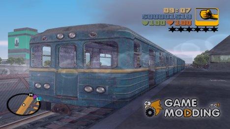 Вагон из игры Metro 2033 для GTA 3