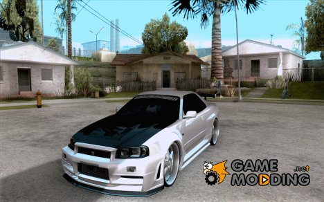 Nissan Skyline GTR-34 Carbon Tune for GTA San Andreas