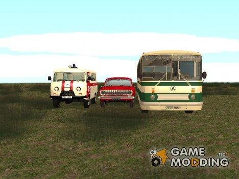 Автомобили СССР от Михаила Пасынкова for GTA San Andreas