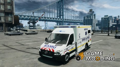 SAMU Paris (Ambulance) for GTA 4