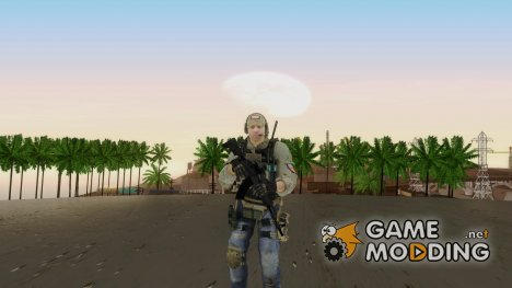 Modern Warfare 2 Soldier 16 for GTA San Andreas
