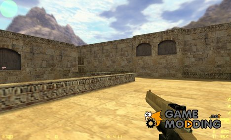 Wooden Deagle для Counter-Strike 1.6