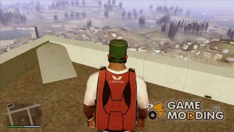 Чёрный парашют из GTA 5 v 2.2 for GTA San Andreas