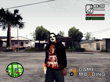 Slipknot куртка for GTA San Andreas