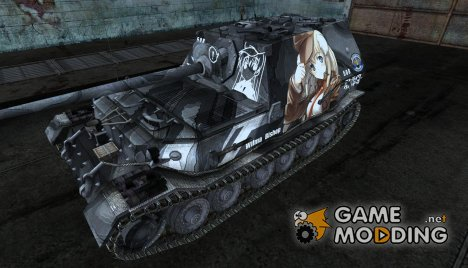 Аниме шкурка для Ferdinand for World of Tanks