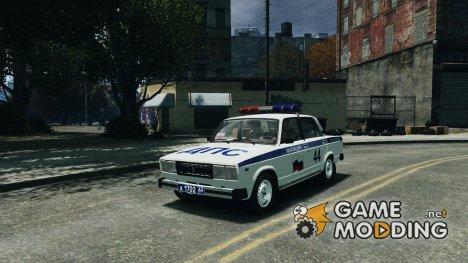 ВАЗ-2105 милиция for GTA 4
