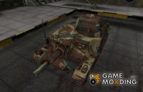 Французкий новый скин для Somua SAu 40 для World of Tanks