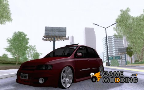 Fiat Stilo + Rodas Bentley 20 для GTA San Andreas