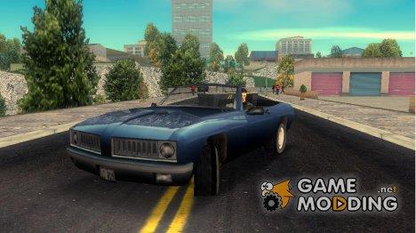 Stallion, адаптированный к скрипту 'руль' для GTA 3