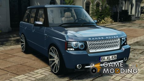Land Rover Supercharged 2012 v1.5 для GTA 4