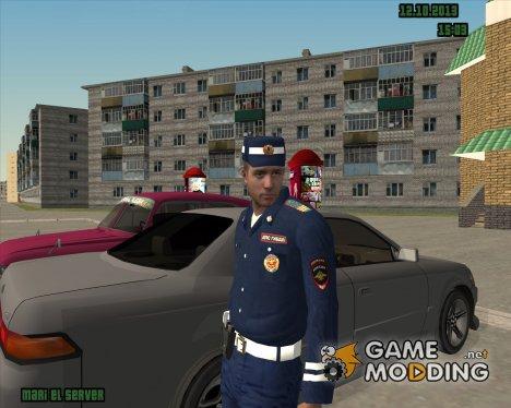 Сотрудник ДПС ГИБДД для GTA San Andreas