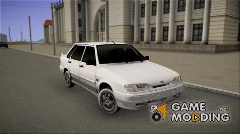 ВАЗ 2115 (Зимняя) for GTA San Andreas