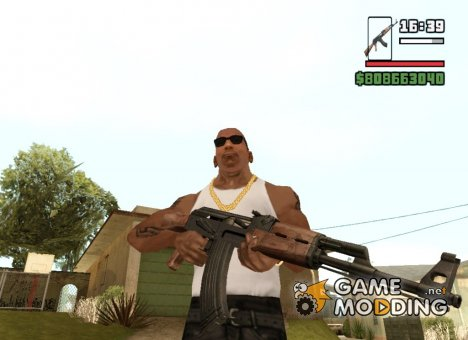 Ak 47 for GTA San Andreas