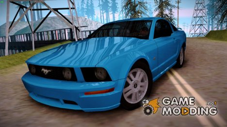Ford Mustang GT 2005 v2.0 for GTA San Andreas