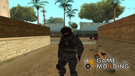 ОМОН-Беркут(Россия) для GTA San Andreas