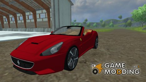 Ferrari California for Farming Simulator 2013