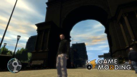 Серые трико для GTA 4