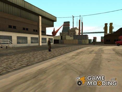 Оживление военной базы в доках - v.2 для GTA San Andreas