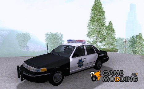 1994 Ford Crown Victoria SFPD для GTA San Andreas