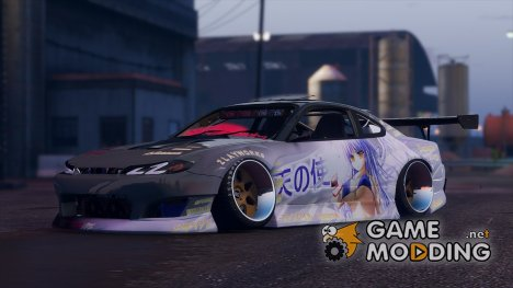 """Zlayworks Nissan Silvia S15 """"Z15"""" для GTA 5"""