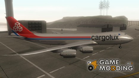 Boeing 747-8 Cargo Cargolux for GTA San Andreas